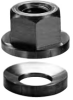 Stainless Steel Spherical Flange Nut: 1/4-20 Thread -- 41821