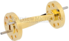 WR-15 90 Degree Waveguide Twist Using a UG-385/U Flange And a 50 GHz to 75 GHz Frequency Range -- SMW15TW1001 - Image