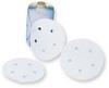 3M(TM) Stikit(TM) Paper Dust Free Disc Roll 415U, 6 in x NH Die# 600HZ 6 Holes 120 A weight, 125 discs per roll 8 rolls per case -- 051144-77233