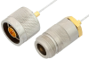 N Male to N Female Cable 36 Inch Length Using PE-SR047FL Coax -- PE34291-36 -Image