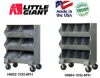 WELDED STEEL MOBILE STORAGE BINS -- HMS4-1532-6PH