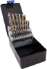 29 Piece SAE Cobalt High Speed Steel Drill Bit Set -- 92129