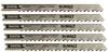 """4"""" 10 TPI U-Shank Downcutting Cobalt Steel Jig Saw Blade -- DW3712-5"""