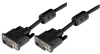 Deluxe DVI-D Dual Link DVI Cable, Male/Male w/Ferrite 1.0 ft -- MDA00014-1F - Image