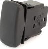 EATON SVR Sealed Rocker Switch, 12A, 12V/24V, (On)-Off-(On), SPDT, SFAMXXCXXXXXXXX -- 43203 - Image