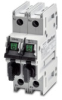 DISCONNECT SWITCH, FUSIBLE, 2P, CC CLASS, 600 VAC, 30A, UL 98, DIN RAIL -- CFS-2PCC30 - Image