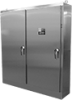 Stainless Steel Heavy-Duty Free-Stand Enclosures for Flange-Mount Disconnects, Type 4X -- A90XM7820SSN4