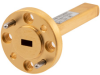 WR-15 Waveguide Termination 1 Watt with a 50 GHz to 75 GHz Frequency Range in Copper -- FMW15TR0001 -Image