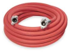 Air Hose,Universal Coupler,50 Ft,Red -- A1250-UC-20