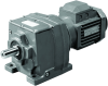 In-Line Helical Geared Motors -- Series M Inline Reducers