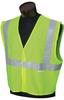 Jackson Safety Lime/Silver Medium/Large Polyester Mesh High-Visibility & Reflective Vest - 711382-03226 -- 711382-03226