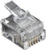 10-Pack RJ11 Unshielded Modular Plug 4-Wire -- FMTP411-10PAK - Image