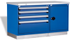 Workbench With Heavy-duty Cabinets -- R5WH5-6005