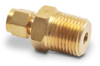 Brass Compression Fitting for 1/4 inch diameter temperature probes -- BCF14-50N - Image