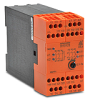 SAFETY RELAY, 24 VAC/DC, 3 N.O. 1 SEC DLY, 2 NO+1 NC INST, 2-CH, E-STOP/GATE -- BH5928-92-61-24-1