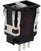 Switch, Rocker; DPDT; On-Off-On; Silver; Double Pole; rectangular; Snap-In -- 70118578