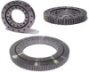 Slewing Ring Turnable Bearings -- Flanged