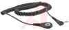 Wrist Band; Black; 6 ft.; Stainless Steel; UL Listed -- 70213830 - Image