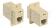 Modular Coupler, RJ12 (6x6), Crossed, 30 -- ECF504-6C