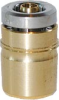 Nickel Plated Brass Dot Push-in -- D6700 04-00