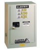 Justrite Chemcor 15 gal Tan Hazardous Material Storage Cabinet - 24 in Width - 35 3/4 in Height - 697841-12979 -- 697841-12979