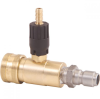 Quick Connect Adjustable Chemical Injectors, Stainless Steel