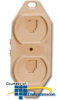 Suttle 8/8 Conductor, Non-Keyed/Keyed, 110-IDC Terminals,.. -- 106BFDE