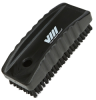 nail brush w/stiff bristle black -- 61586