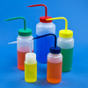 Wide Mouth Color Coded Wash Bottles -- 1775