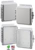 9X8X2 Impact Polycarbonate Enclosure -- P9082C