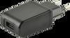 Wall Plug-In European Blade AC-DC Power Supply -- SWI10-5-E-I38 - Image