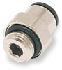 Male Connector,4mm OD,290 PSI,PK 10 -- 1PEN5 - Image
