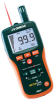 Pinless Moisture/Relative Humidity Meter With Infrared Thermometer -- RH297