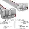 Rectangular Cable Assemblies -- H3DDS-1418G-ND -Image