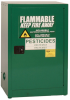 Eagle 12 gal Green Hazardous Material Storage Cabinet - 23 in Width - 35 in Height - Bench Top - 048441-33487 -- 048441-33487 - Image