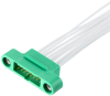 10+10 Pos. Male DIL 26AWG Cable Assembly, 150mm, double-end, Screw-Lok -- G125-MC12005M1-0150M1 - Image