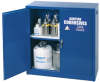 Acid & Corrosive Chemical Cabinet - 30 Gallon - Manual Doors -- CAB154