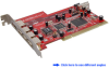 7-Port Hi-Speed USB 2.0+SATA Combo PCI Hos&#8230 -- 5200