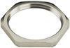 Locknuts, Nickel-Plated Brass -- 6000070 - Image