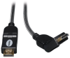 High Speed HDMI Cable with Swivel Connectors, Ultra HD 4K x 2K, Digital Video with Audio (M/M), 3-ft. -- P568-003-SW -- View Larger Image