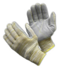 Nuaramid(R)/Polyester/Steel Blend with Sewn-On Leather Palm, XX-Large -- 616314-23002