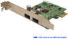 Dual Channel SuperSpeed USB 3.0 PCI Expres&#8230 -- PEU231
