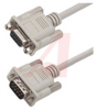 Cable;Premium Molded;Straight;DB9 Male/Female;10 Ft;9 Cond;Light Gray;Stranded -- 70126099 - Image