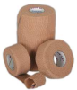 Cohesive Bandage,Tan,1 In x 5 Yd,PK 30 -- 11L770