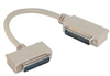 Deluxe Molded D-Sub Cable, DB25 Male / Right Angle Exit 1 Male, 5.0 ft -- CSMNRA25-1MM-5 -Image
