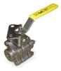 3 Piece Ball Valve,Threaded,2 In -- 3EFD7