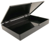 Hinged Conductive Plastic Box -- 664-751 - Image