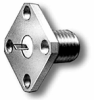 RF Coaxial Panel Mount Connector -- 5271CC -- View Larger Image