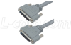 Deluxe Molded D-Sub Cable, HD44 Male / Male, 2.5 ft -- CHD44MM-2.5
