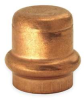 Cap,Connection P,1 1/4 In,Copper,200 PSI -- 1RPF3 - Image